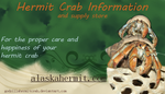 business card for godzillahermitcrab by blaze-jaganshi