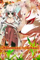 Okami Amaterasu iTouch/iPhone IconWallpaper by InifiniySociety89