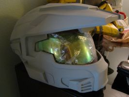 Halo Reach MKV A helmet WIP 3 by Hyperballistik
