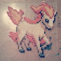 Ponyta in beads! by fromlusttodust
