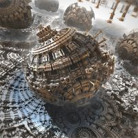 Domain of the Sphere by HalTenny