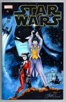 Joker and Harley Quinn Star Wars Cover Batman by HM1art