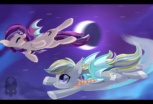 Night Flight by Skittian