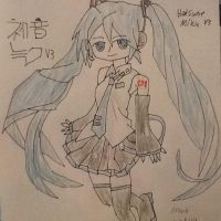 Hatsune Miku by Moonstar2314