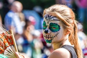 Day of the Dead makeup (Colour version) by attomanen