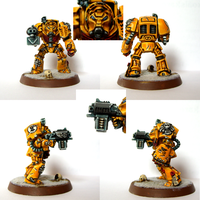 Imperial Fist Terminator by Belazikkal