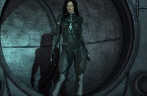 Enviromental Stealth Suit by YlandraX