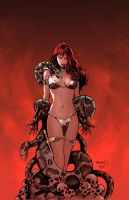 Red Sonja :Doom of the Gods 2 by PaulRenaud
