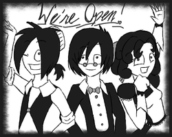 We're Open by accasperberry3