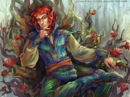 Elven prince by sparrow-chan