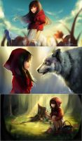 Red Riding Hood by Naiichie