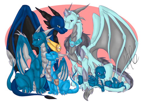 Royal Family By PoisonousPeach by AMCAlmaron