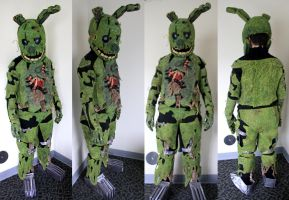 Springtrap Fullsuit Auction - SIGNED BY MARKIPLIER by raigr