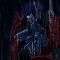 In the Rain, I Weep... by MNS-Prime-21