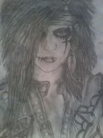 Andy Six, Black Veil Brides by ShatteredApocalypse