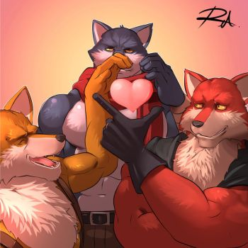 Trio of Luv by reclamon