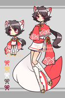 XXIV Oriental Fox {Auction} CLOSED by Koru-Adopts