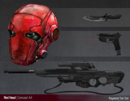 Red Hood Concept Art Asset by Raymondttan