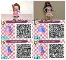 Animal Crossing New Leaf | Barbie Glam Luxe Teresa by HadleyandIsla