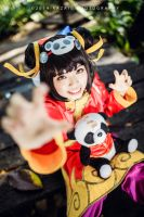 League of Legends - Annie Panda Skin by Bakasteam