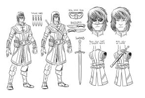 GAGE - Character Design by gadgetwk