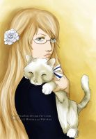 APH: My kitty by LadySwallow