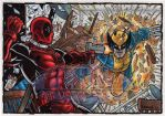 Deadpool VS Wolverine by tonyperna
