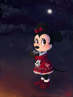 Winter Minnie by C-Puff