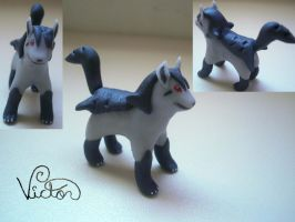 262 Mightyena by VictorCustomizer