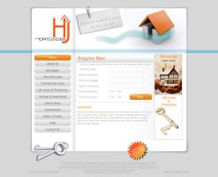 HandJ Mortgages Website Design by bobbysandhu
