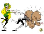 Enchantress vs Maria Hill by JayFosgitt