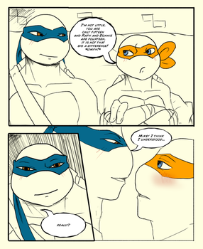 TMNT - First Kiss: Page 14 by KameBoxer
