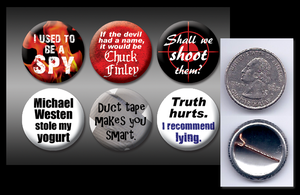 "Burn Notice 1"" buttons by eitanya"