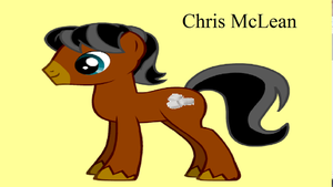 Chris McLean Pony by Capricornuss