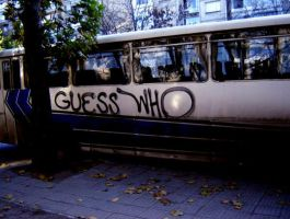 the guess who bus by pyrotechnix