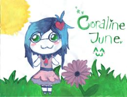 Coraline June~ Painted by Drizzle-The-Glaceon