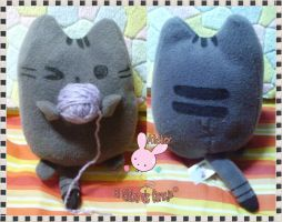 Pusheen plush ~ by Homishi