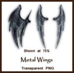 Metal Wings by shd-stock