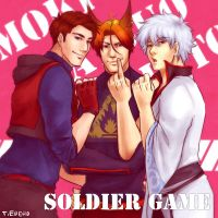 'Soldier Game' Gin Tat Tom by Gintijd