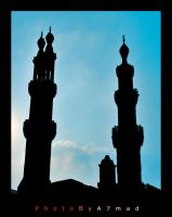 Masjed in silhouette by BooTuM