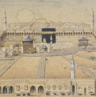 A Panoramic View Of Mecca In Ottoman Period, 19th  by ugur274