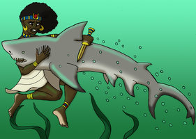 Fish for a Pharaoh by BrandonSPilcher