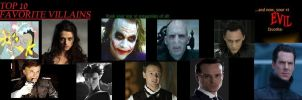 My Top 10 Villains by GamerGirl14