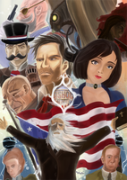 Bioshock Infinite by Khazam
