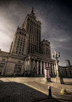 Palace of Culture and Science II by Beezqp