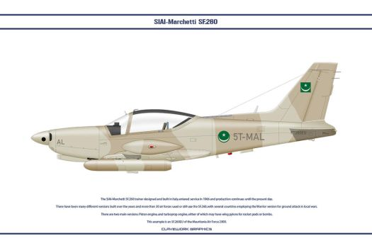 SF260 Mauritania 1 by WS-Clave