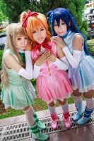 Love Live! - Start:Dash!! Kotori x Honoka x Umi by Xeno-Photography