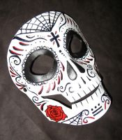 Day of the Dead Mask by MummersCat