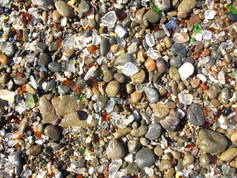 glass beach by shyfoxling
