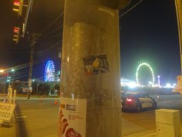 Thor stickerslap at the fair by omarvel1